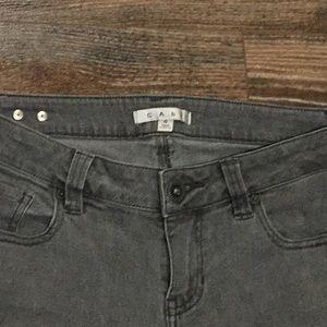 CAbi Jeans - Gray CAbi skinny jeans